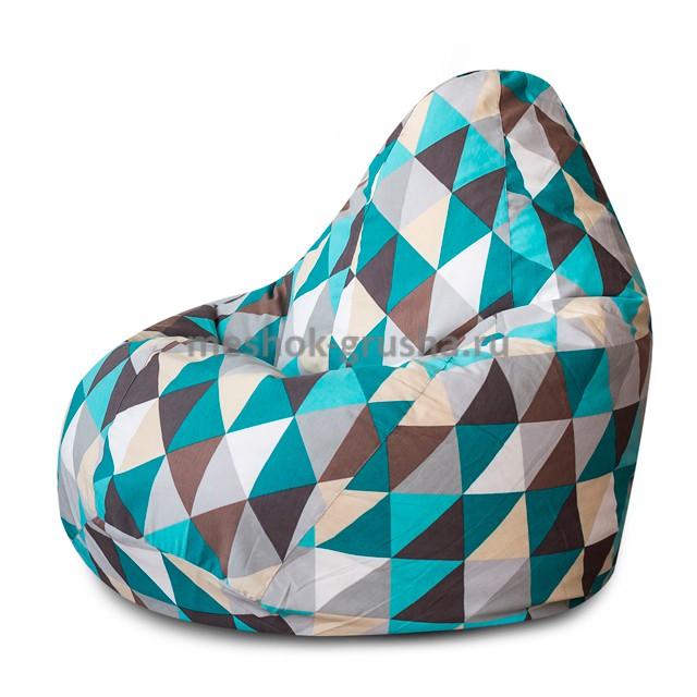 Кресло Мешок Груша Изумруд (L, Классический)