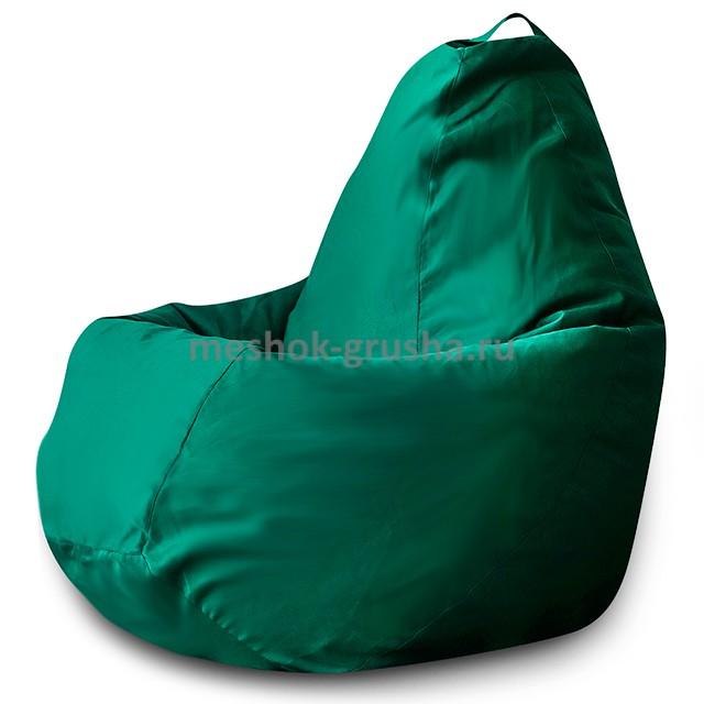 Кресло Мешок Груша Фьюжн Зеленое (L, Классический)