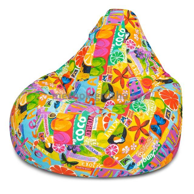 Кресло Мешок Груша Цитрус  (L, Классический)