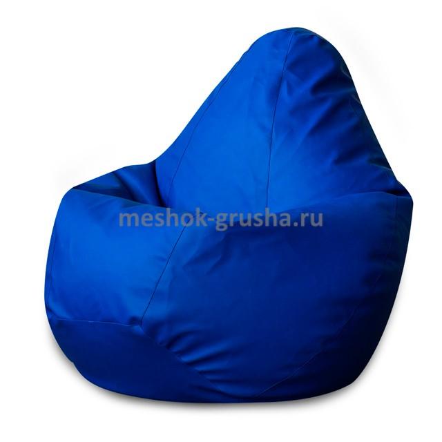 Кресло Мешок Груша Фьюжн Синее  (2XL, Классический)