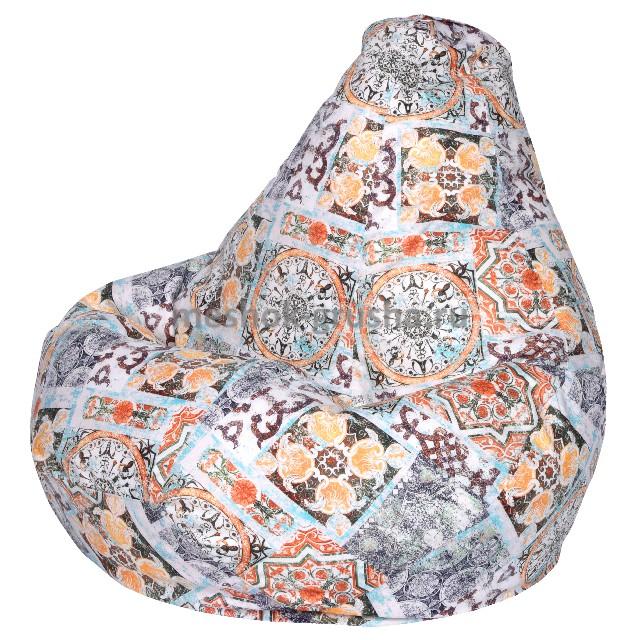 Кресло Мешок Груша Сиена Терракот (XL, Классический)