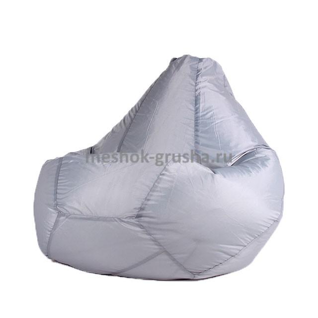 Кресло Мешок Груша Серое (Оксфорд) (3XL, Классический)